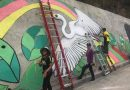 Artists paint nature-inspired mural in NV