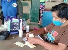 Group holds health mission amid a pandemic