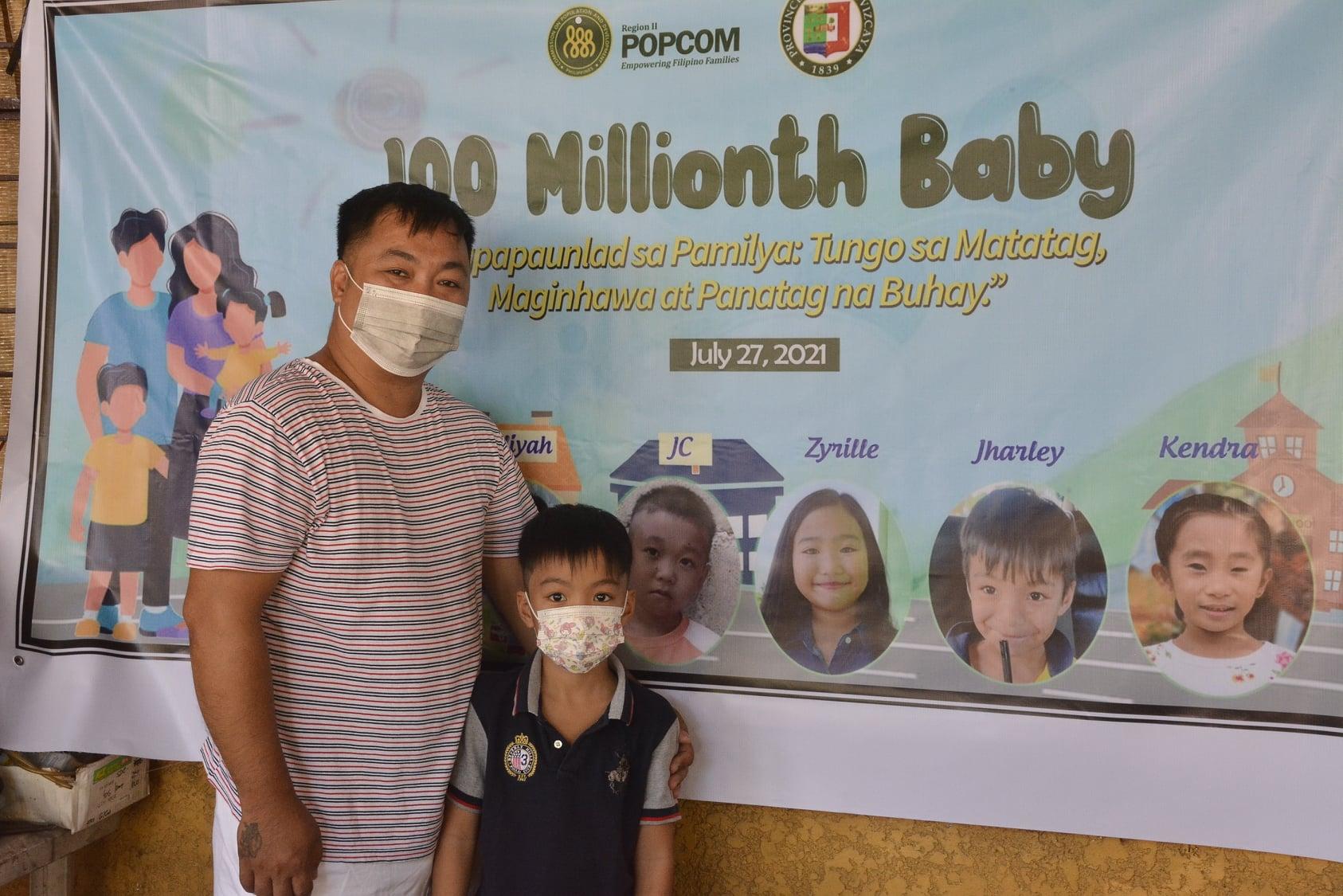 """PopCom-R02 celebrates the birthday of NV's """"100 Millionth Baby"""""""