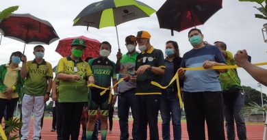 Ribbon-cutting Ceremony of the Rubberized Oval at the Nueva Vizcaya Sports Complex