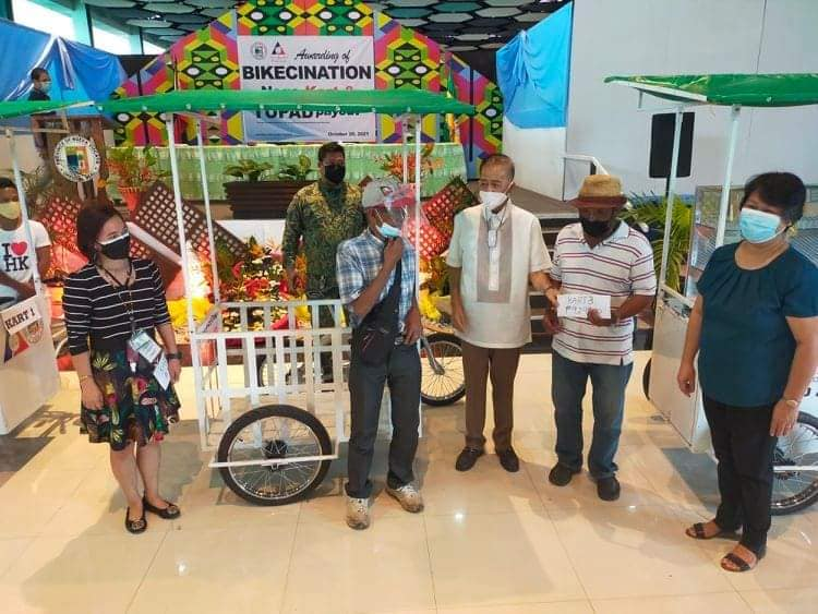 NV & DOLE distributed livelihood packages to 219 beneficiaries